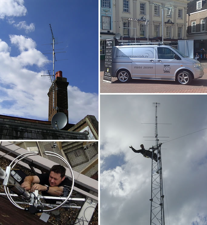 Northampton Aerials - Aerial Installation